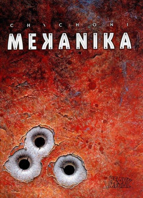Mekanika cover. Artwork by Oscar Chichoni