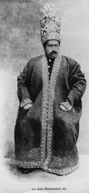 1907: Mohammed Ali, Shah of Persia (1872 - 1925), who reigned from 1907 to 1909