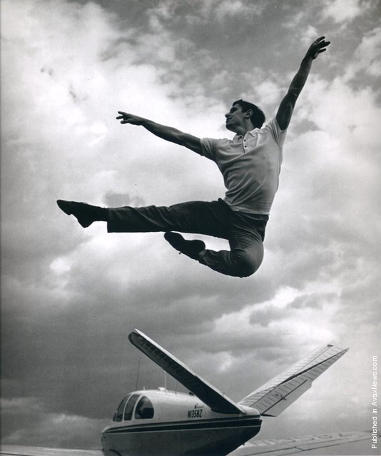 A danseur and choreographer, frequently cited as America's most celebrated male dancer at the time Edward Villella,1961. (Photo by Philippe Halsman)