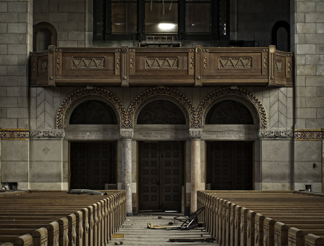 Church of the Transfiguration, Philadelphia Pa. (Photo by Matthew Christopher/Caters News)