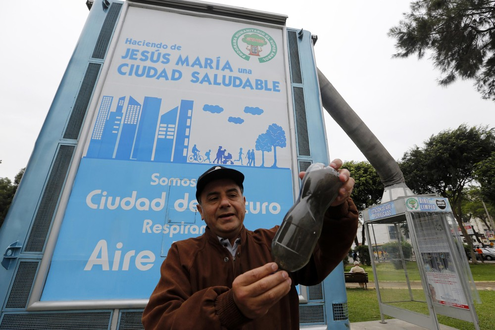 A Giant Air Purifier in Lima