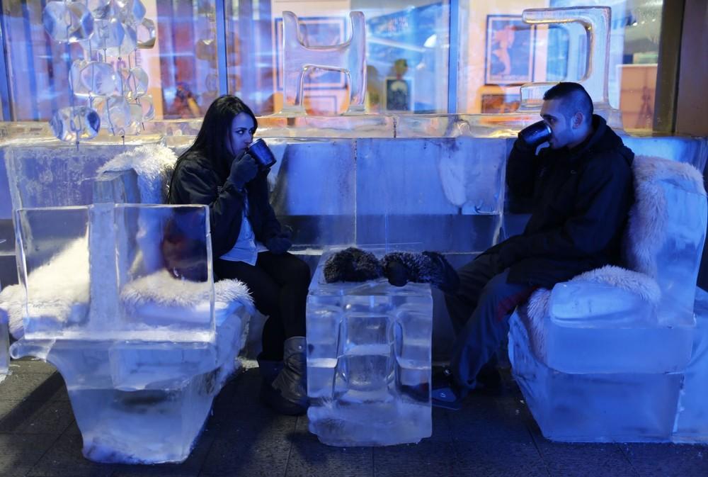 Dubai's Ice Cafe
