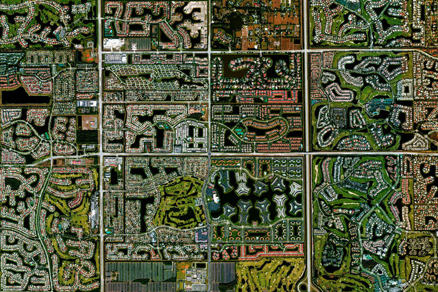 Boca Raton, Florida. (Photo by Benjamin Grant/Digital Globe/Caters News)