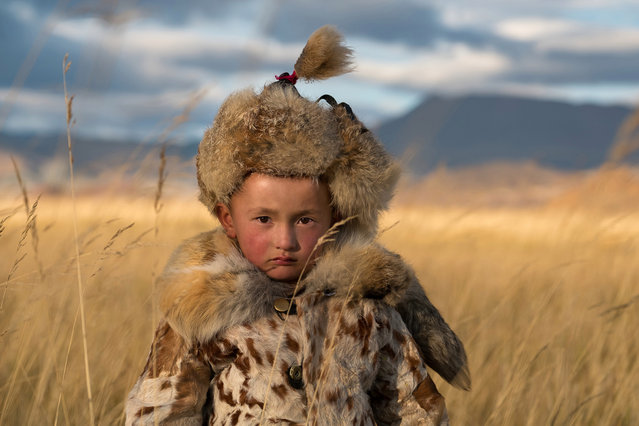 Kazakhs are a nomadic people and move between their seasonal homes several times a year in Altai Mountains, Mongolia, September 2016. (Photo by Joel Santos/Barcroft Images)