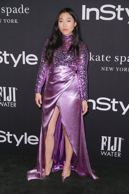 Awkwafina attends the 2018 InStyle Awards at The Getty Center on October 22, 2018 in Los Angeles, California. (Photo by Rich Fury/Getty Images)