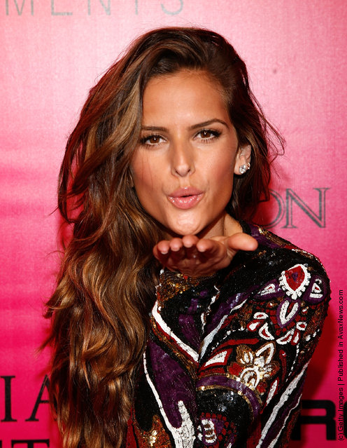 Model Izabel Goulart attends the 2011 Victoria's Secret Fashion Show After Party