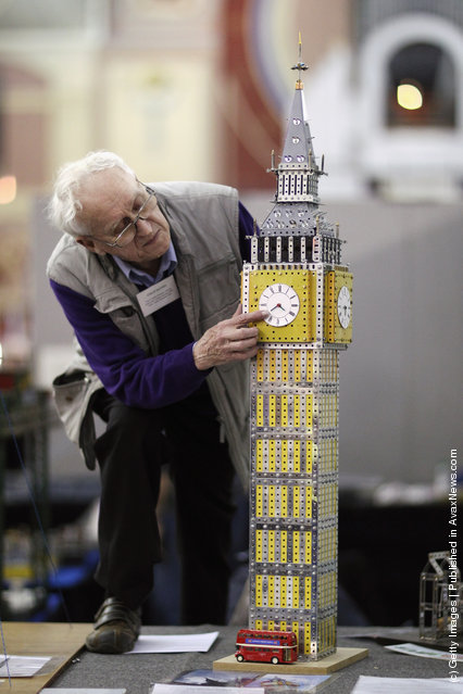 Enthusiasts Enjoy The London Model Engineering Exhibition