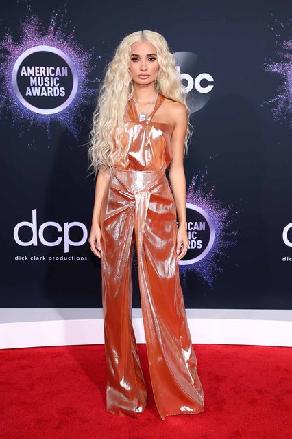Pia Mia attends the 2019 American Music Awards at Microsoft Theater on November 24, 2019 in Los Angeles, California. (Photo by Rich Fury/Getty Images)