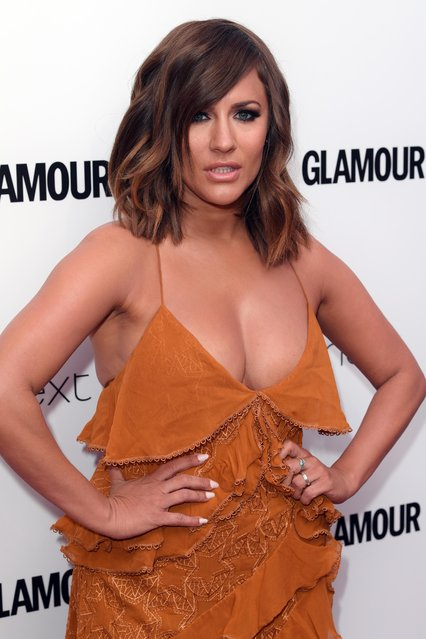 UK Love Island host Caroline Flack attends the Glamour Women of The Year awards 2017 at Berkeley Square Gardens on June 6, 2017 in London, England. (Photo by David Fisher/Rex Features/Shutterstock)