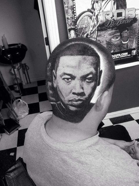 Dr. Dre. (Photo by Caters News)