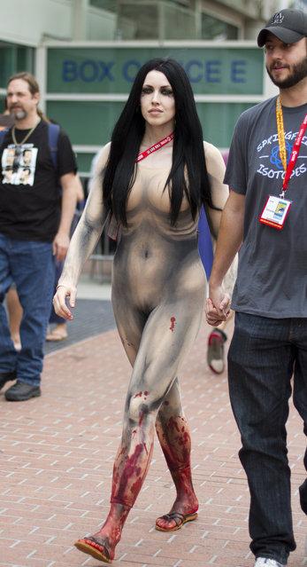 Flesh costume?