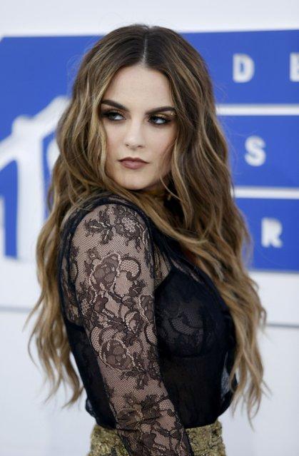Singer Jojo arrives at the 2016 MTV Video Music Awards in New York, U.S., August 28, 2016. (Photo by Eduardo Munoz/Reuters)