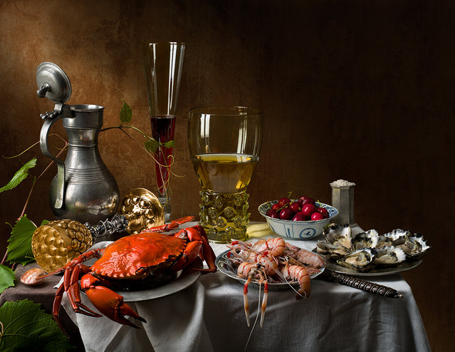 """""""Still Life with Crab and Scampi"""". (Kevin Best)"""