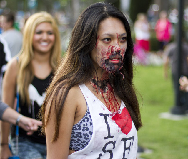 2013 San Diego Comic Con Zombie Walk. (Photo by Nathan Rupert)