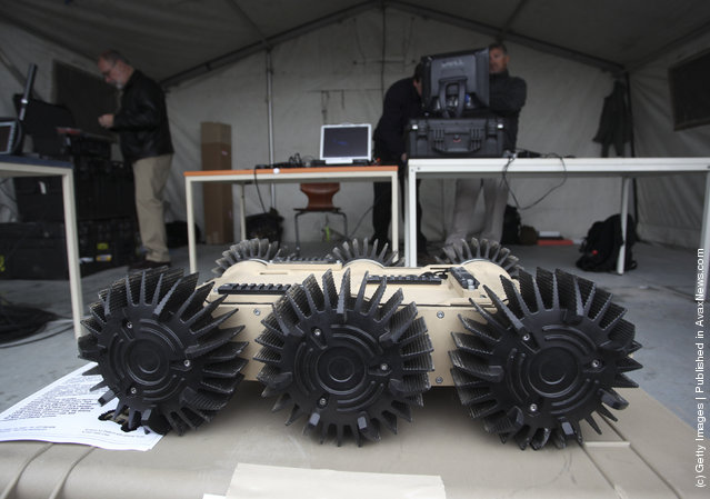 European Land-Robot Trial (ELROB), Military robot, Scorpion V2