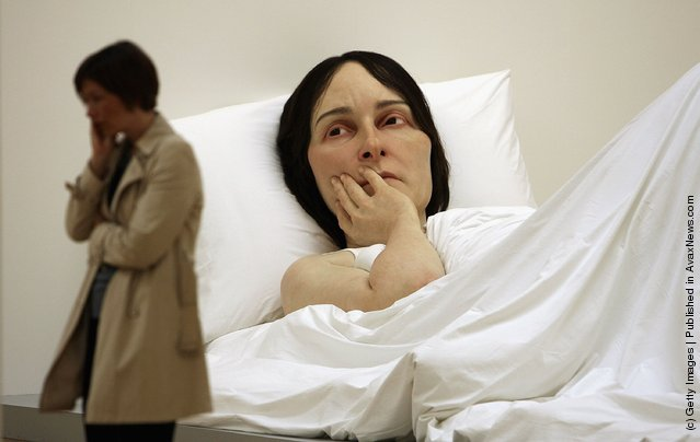 In Bed by Ron Mueck