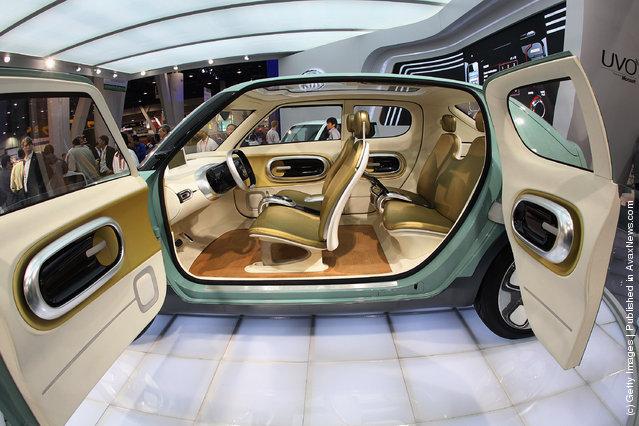 Kia Motors displayed their Naimo concept car at the 2012 International Consumer Electronics Show
