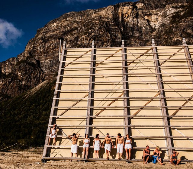The World's Largest Sauna Opens In Norway