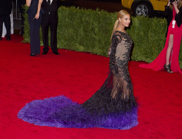 Beyonce Knowles attends the 'Schiaparelli And Prada: Impossible Conversations' Costume Institute Gala at the Metropolitan Museum