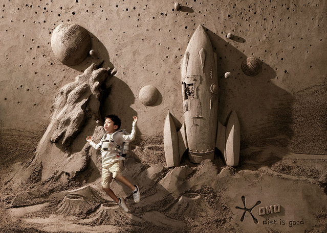 Stunning Sand Sculptures by Artist JooHeng Tan