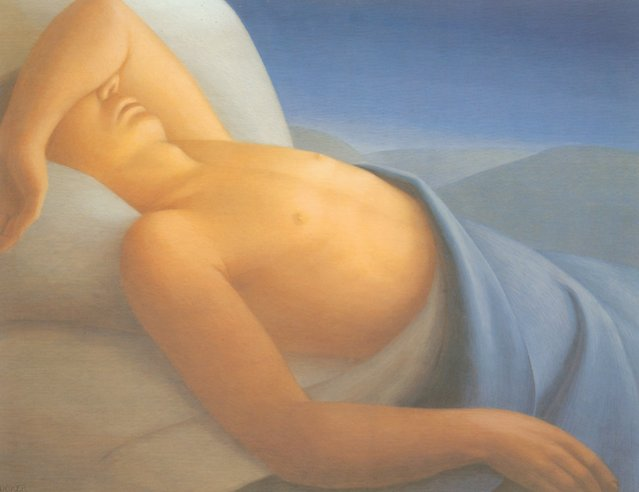 Sleep. Artwork by George Tooker