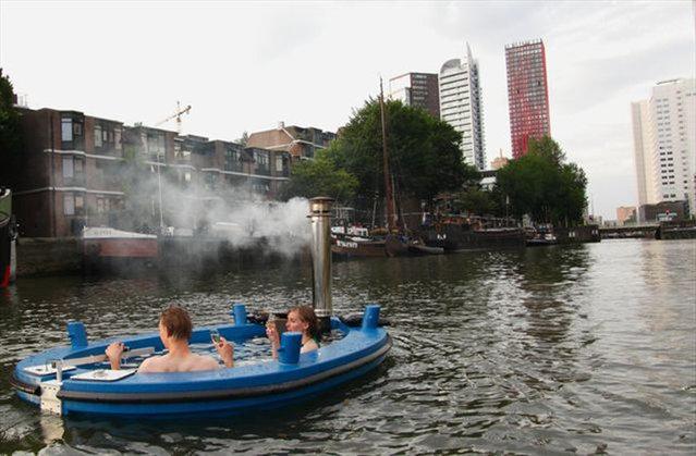 The Hot Tub Tug Boat