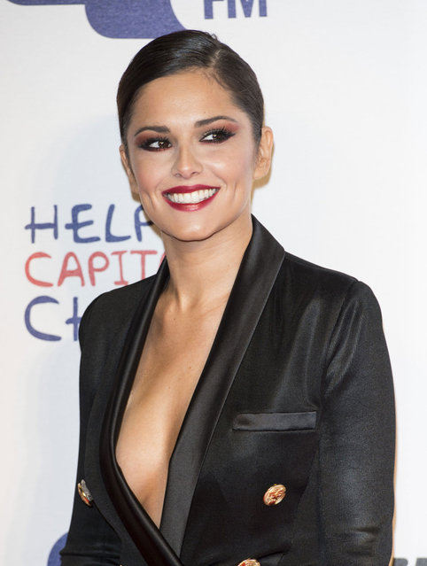 Cheryl Cole attends the Capital FM Jingle Bell Ball at 02 Arena on December 8, 2012 in London, England. (Photo by Fred Duval)