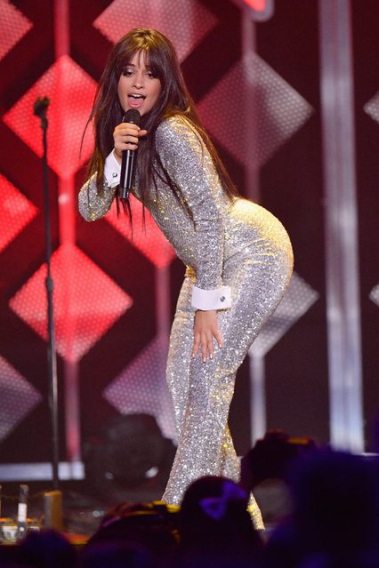 Camila Cabello performs at Z100's Jingle Ball 2018 at Madison Square Garden on December 7, 2018 in New York City. (Photo by Dia Dipasupil/Getty Images for iHeartMedia)