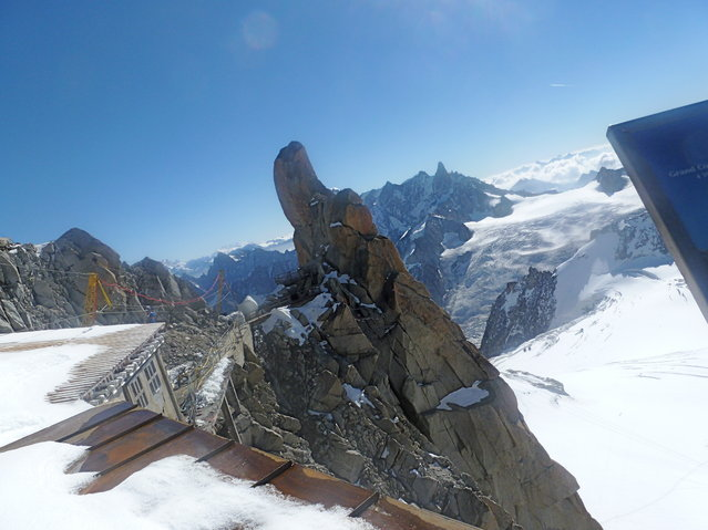 Aiguille du Midi In The French Alps