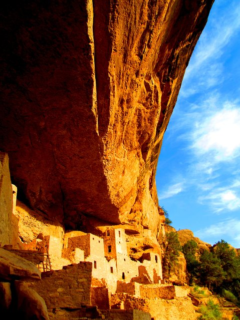 Winner of the National Park Foundation's photo contest; Honorable Mention: Historical. Mesa Verde National Park, Colorado. Cliff Palace, the largest cliff dwelling in North America. (Photo by Sarah Malerich)