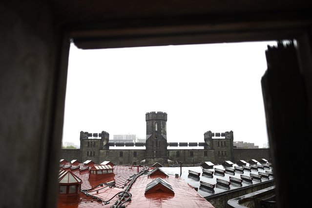 The Eastern State Penitentiary gatehouse as viewed from the second level, in Philadelphia, Pennsylvania April 30, 2014. (Photo by Mark Makela/Reuters)