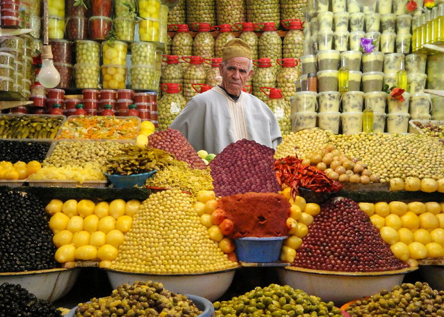 """The Olive Man – Morocco"". (Photo by Michael Sheridan)"