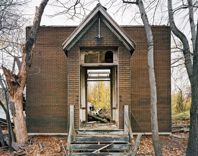 Church, North Brother Island, New York. (Photo by Christopher Payne)
