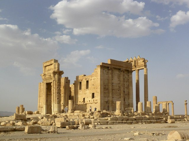 A general view shows the Temple of Bel in the historical city of Palmyra, Syria, August 4, 2010. The hardline Islamic State group has destroyed part of an ancient temple in Syria's Palmyra city, a group monitoring the conflict said on August 30, 2015. The militants targeted the Temple of Bel, a Roman-era structure in the central desert city, the Syrian Observatory for Human Rights said. (Photo by Sandra Auger/Reuters)