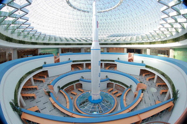 The Sci-Tech Complex in Pyongyang, North Korea on October 28, 2015. (Photo by Reuters/KCNA)