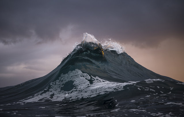 Ray Collins is a colorblind Australian coal miner who is in love with the ocean. He spends his off days photographing it. (Photo by Ray Collins)
