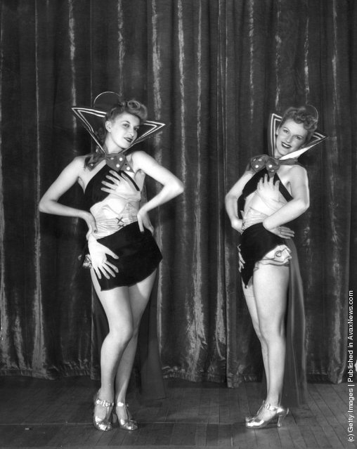 Members of the Empire Cabaret troupe