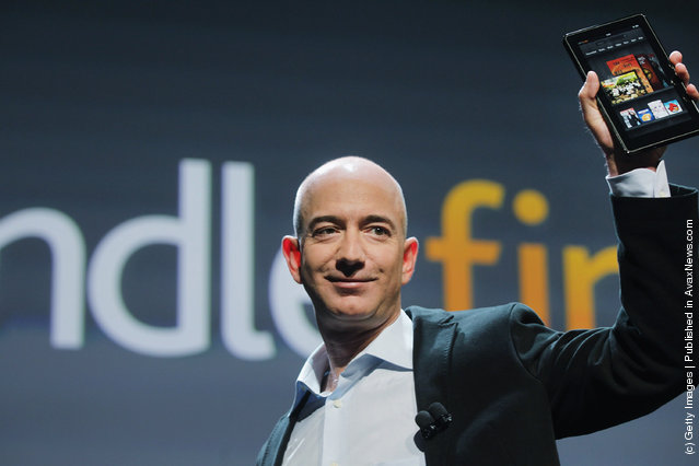 Amazon tablet called the Kindle Fire