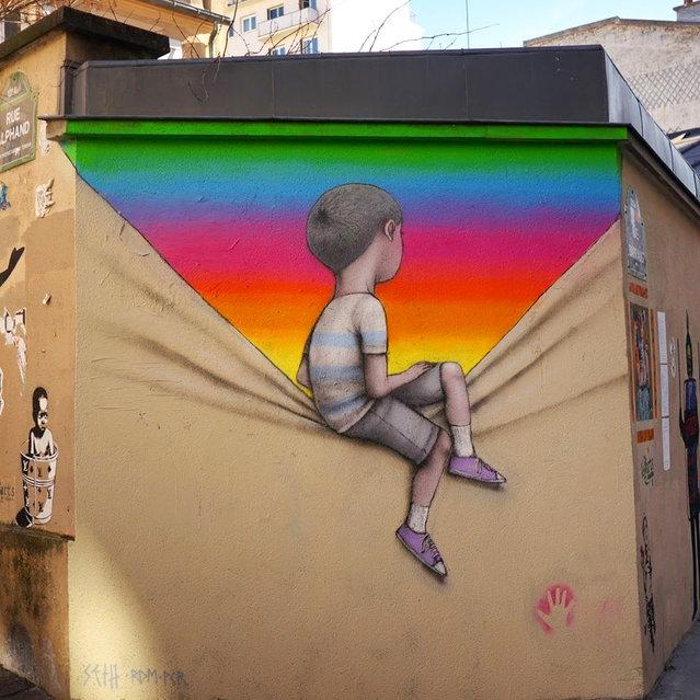 Street Art By Seth Globepainter