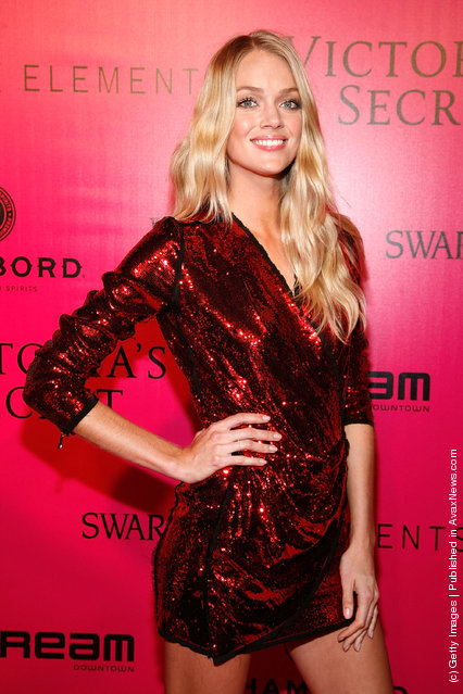 Model Lindsay Ellingson attends the 2011 Victoria's Secret Fashion Show After Party