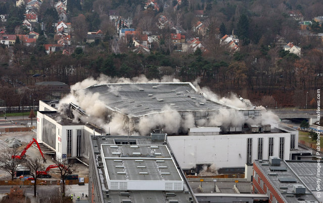 Demolition Of The Deutschland Halle