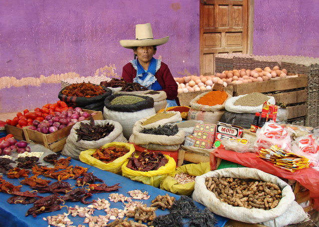"""Peppers – Cajamarca, Peru"". (Photo by Michael Sheridan)"