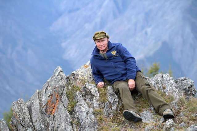 Russian President Vladimir Putin is seen during his holiday in the Siberian taiga, Russia on October 7, 2019. (Photo by Alexei Druzhinin/Sputnik/Kremlin via Reuters)