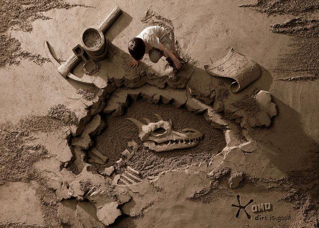 Stunning Sand Sculptures by Artist JooHeng Tan