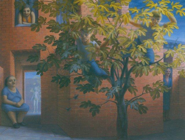 Fig Tree. Artwork by George Tooker