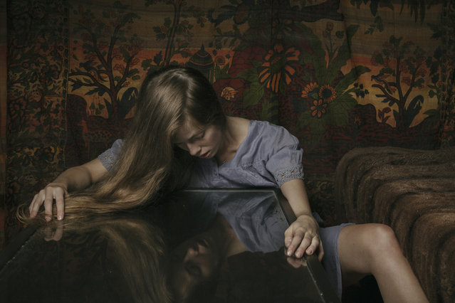 """The second half of Stevens' series portrays reconstruction, she said. """"Sofia"""", pictured here, is the turning point. (Photo by Laura Stevens)"""
