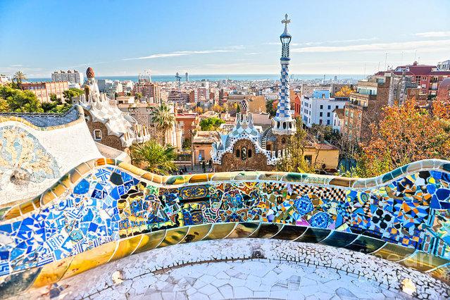 Barcelona in ParK Güell