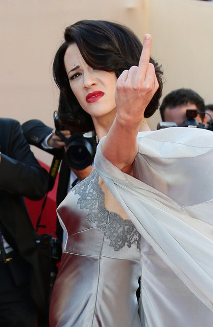 "Actress Asia Argento attends the ""Zulu"" Premiere and Closing Ceremony during the 66th Annual Cannes Film Festival at the Palais des Festivals on May 26, 2013 in Cannes, France.  (Photo by Vittorio Zunino Celotto/Getty Images)"
