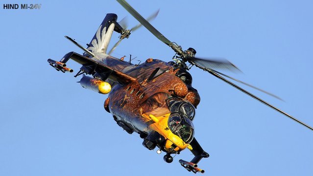 Painted Mil Mi-24 Hind