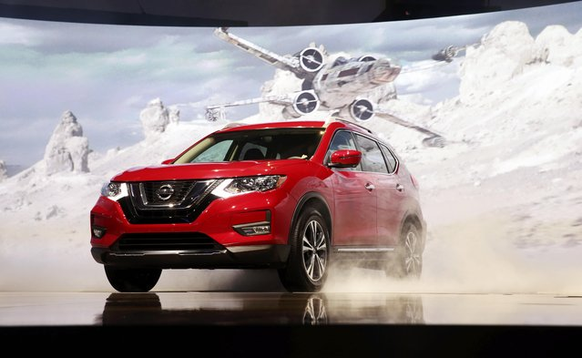 Nissan introduces the 2017 Nissan Rogue Star Wars Edition at the 2016 Los Angeles Auto Show in Los Angeles, California, U.S November 16, 2016. (Photo by Lucy Nicholson/Reuters)